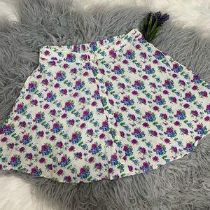 Lush Floral Skirt